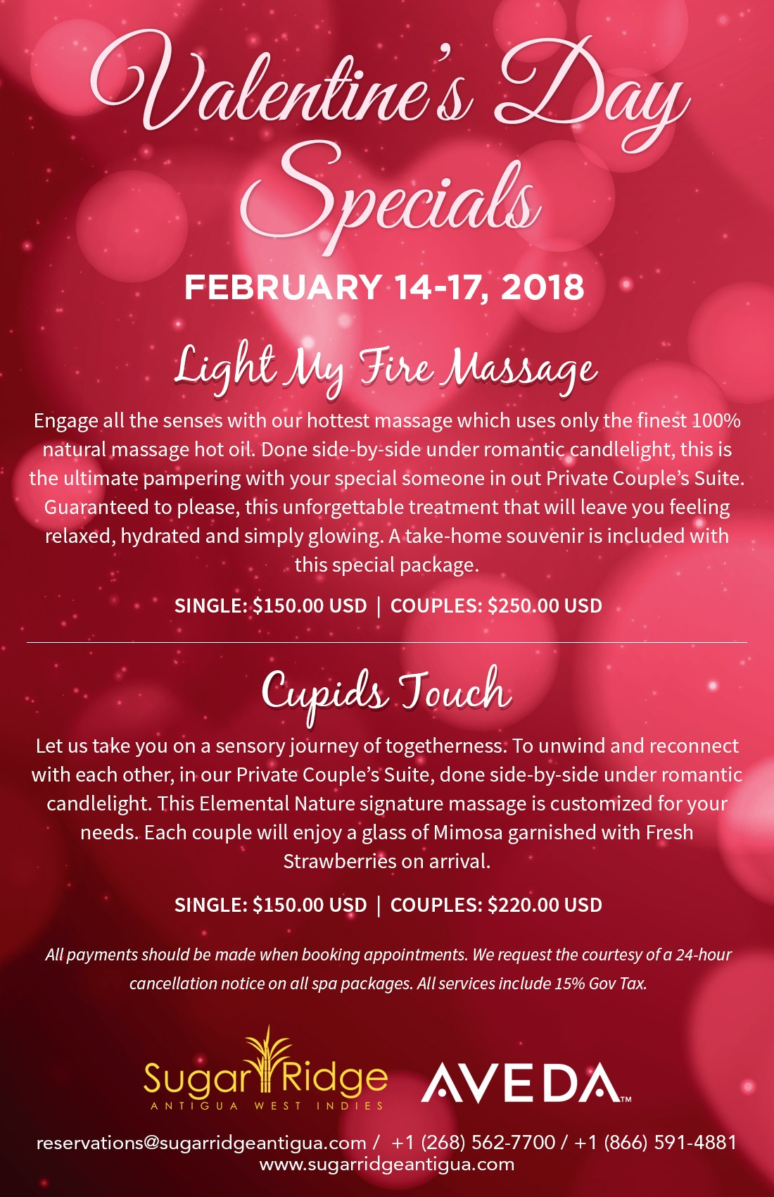 Valentineu0027s Day Specials